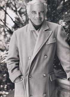 Ralph Lauren.  Loving the camel hair polo coat.