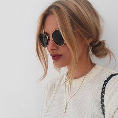 mhm | shades, sunglasses, hairstyle, hair inspiration, everyday, bayalage, balayage, easy, diy ideas, casual, minimalist, minimalism, minimal, simplistic, simple, modern, contemporary, classic, classy, chic, girly, fun, clean aesthetic, bright, pursue pretty, style, neutral color palette, inspiration, inspirational, diy ideas, fresh, stylish,