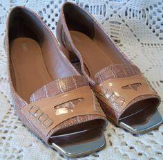 Sapatilha peep toe Dunes tamanho 37
