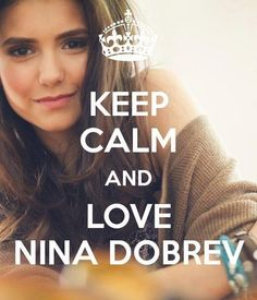 Nina Dobrev - The Vampire Diaries