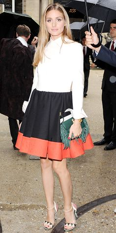 Look of the Day - July 10, 2014 - Olivia Palermo in Valentino from #InStyle