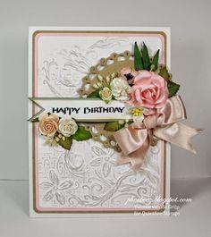 Quietfire Creations: Happy Birthday card... Card by Yvonne van de Grijp Www.phoebeez.blogspot.com