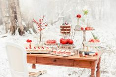Birthday Party In Red