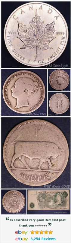 #coins #coinage #silvercoins #irishcoins #englishcoins #banknotes #goldcoins #romancoins http://stores.ebay.co.uk/PM-Coin-Shop/_i.html?rt=nc&_sid=1083015530&_trksid=p4634.c0.m14.l1513&_pgn=2