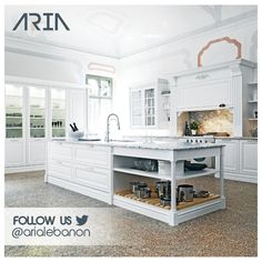 Don't forget to follow Aria on Twitter @arialebanon and get the best kitchen design ideas!