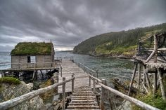 How To Get Started With Salt Water Fishing. Photo by Ricardo's Photography (Thanks to all the fans! Check out fishing. Newfoundland Canada, Newfoundland And Labrador, Atlantic Canada, Fishing Villages, Salt And Water, Abandoned Places, East Coast, Places To See, Seaside