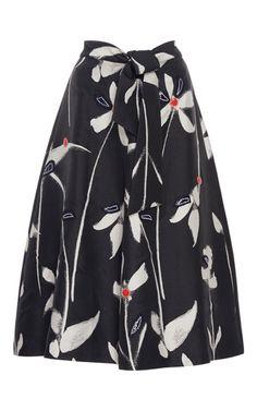 Sachin Babi floral freda a line floral skirt