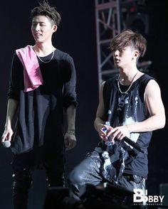 151128 iKONTACT in Guangzhou (cr: bibobbybar) #iKON #비아이 #Hanbin #BI #바비 #Jiwon #Bobby #KimHanbin #KimJiwon #DoubleB #아이콘 by bi.bobby