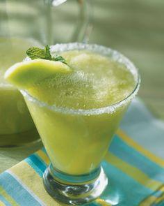 Honeydew Margarita. These are delicious!