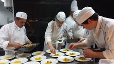 Brasserie Le Cordon Bleu has been up and running again in August! Diplôme de Cuisine students in action.