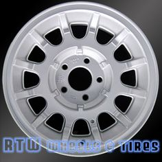 """Ford wheels for sale Crown Victoria 95-97. 15"""" Silver rims 3264 - http://www.rtwwheels.com/store/shop/ford-wheels-for-sale-crown-victoria-grand-marquis-silver-3264/"""