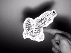 #эскиз #ink #sketch #blacktattoo #tattoo #sketchtattoo #heart #knife #bones #сердце #нож #ненадоснов #lumen