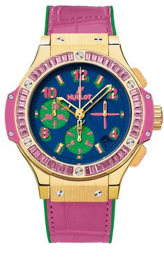 Hublot Pop Art Yellow Gold Rose Watches - Big Bang