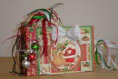 Twas the Night Before Christmas Photo Album Handmade OOAK