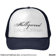 Hollywood California chic customizable Trucker Hat