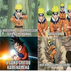 Dragon ball sempre mlr que Naruto Naruto Y Boruto, Anime Naruto, Otaku Anime, Creepypasta, Dragon Ball, Haha, Funny Memes, Geek Stuff, Fan Art
