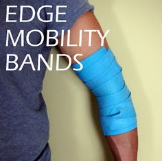 EDGE Mobility Band for Hip IR Mobilization #physicaltherapy #manualtherapy