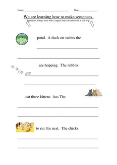 A set of made up resources to supplement Jolly Grammar , includes spelling. First Grade Math Worksheets, Spelling Worksheets, Grammar Activities, Teaching Resources, Word Building, Phonics, Sentences, Literacy, Learning