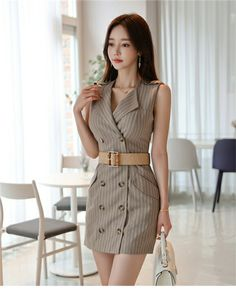 Muse, Dresses For Work, Shirt Dress, How To Make, Shirts, Shopping, Beauty, Korean, Sexy