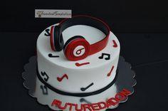 Beats by Dre Headphones Cake
