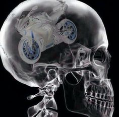Motorcycle always on the brain - motorcycle quote - sportbikes
