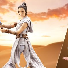 Sideshow and Kotobukiya present the Rey ARTFX Statue! Rey joins Kotobukiya& ARTFX series from the movie, Star Wars: The Rise of Skywalker! Rey stands approximately tall with a lightsaber in hand. This scale statue features fine details Ernie Hudson, Marvel Statues, Ghost Rider Marvel, Spring Into Action, Rey Star Wars, Dragon Statue, Gotham, Iron Man, Hollywood