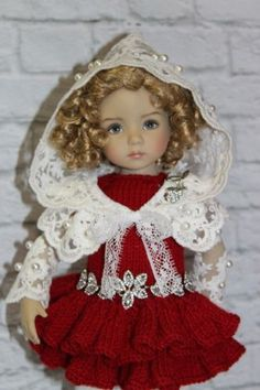 """OUTFIT FOR DOLLS 13"""" Dianna Effner Little Darling"""