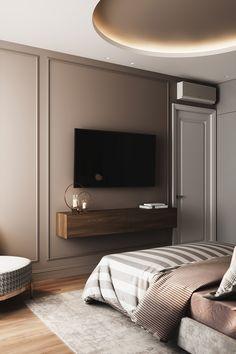 Home Interior Living Room – Master Bedroom Decor Diy Modern Luxury Bedroom, Modern Bedroom Design, Home Room Design, Luxurious Bedrooms, Home Interior Design, Living Room Designs, House Design, Contemporary Bedroom, Kitchen Contemporary