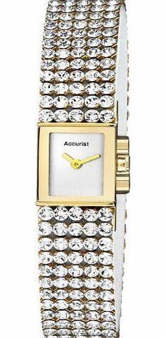 Accurist Ladies Gold Plate, Crystal Set Strap, Rectangular Dial LB1503 No description (Barcode EAN = 5033988030399). http://www.comparestoreprices.co.uk/ladies-watches/accurist-ladies-gold-plate-crystal-set-strap-rectangular-dial-lb1503.asp