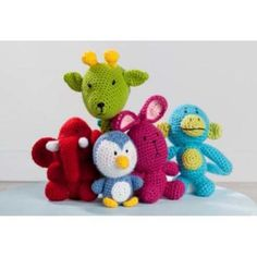 Premier® Amigurumi Animals Crochet Pattern Free Download – Premier Yarns