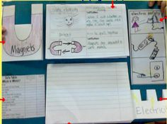 Electricity and Magnets Lapbook ideas and freebies! Fourth grade science!