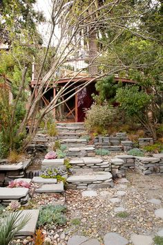 Christopher's Stacked Stone Terrace Garden  Professional Project