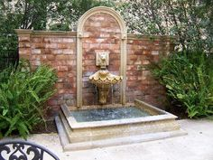 Courtyard Fountains | Fireplace in lobby - Picture of Ayres Hotel Manhattan Beach ...