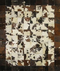 Haired Hide Cow Rug