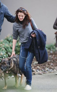 kristen stewart dog - Google Search