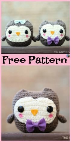 Everyone loves owls, and they are one of our favorite animals! So why not learn how to make a adorable Crochet Amigurumi Owl for your child ? Crochet Giraffe Pattern, Owl Crochet Patterns, Crochet Owls, Peyote Stitch Patterns, Crochet Unicorn, Owl Patterns, Cute Crochet, Crochet Animals, Crochet For Kids