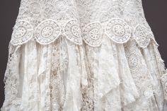 Detalle vestido Macrame