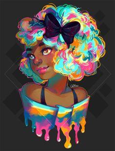 Rainbowww GDBee Arts FAQ/Store/Insta/Patreon #prinnay #art