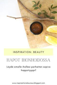 Kosmetiikassa käytettävät hapot ovat ihonhoidon tehostajia, joilla voit saada näkyviä tuloksia hyvinkin nopeasti. Lue lisää blogista!