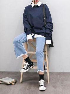 49 Lovely Korean Winter Fashion Fashion korean koreanfashion Lovely w - Dinnerrecipeshealthy sites Korean Fashion Winter, Korean Fashion Trends, Korea Fashion, Asian Fashion, Girl Fashion, Fashion Outfits, Korean Winter, Coco Fashion, Style Fashion