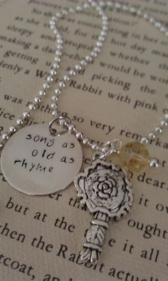 Beauty and the Beast Necklace, I absolutely love it.