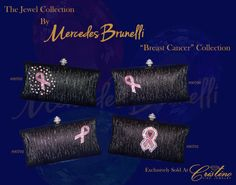 Embrace Your inner Jewel with an evening clutch  by Mercedes Brunelli designed especially for Cristino Fine Jewelry.  This Collection is unique and elegant and is the perfect addition to every women's wardrobe.  It can be worn as a clutch or a cross body bag.  A beautiful rhinestone Pink Ribbon surrounded by pink and white Swarovski Crystals accent of this magnificent bag. 20% of each Mercedes Brunelli Pink Ribbon handbag is donated to benefit Breast Cancer Awareness Evening Clutches, Breast Cancer Awareness, Cross Body, Benefit, Swarovski Crystals, Fine Jewelry, Crossbody Bag, Ribbon, Shoulder Bag