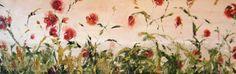 large impasto floral art original oil painting by JaniceTraneJones, $499.00