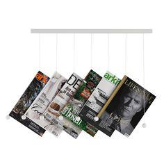 Riddle tidskriftshylla, vit från Swedese – Köp online på Rum21.se  List, tidskrifter, snygg, inspo