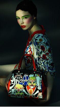 Beijing opera and fashion