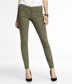 TRAPUNTO STITCHED BRUSHED SATEEN LEGGING | Express