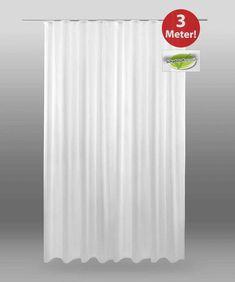 Dekoschal Fertiggardine Voile Vorhang Store Gardine Universalband Weiß 300 x245 Curtains, Shower, Ebay, Drapes Curtains, Rain Shower Heads, Blinds, Showers, Draping, Picture Window Treatments