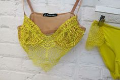 @Debbie Arruda Fortner Love & Lemons Bat Your Lashes Bralette