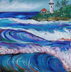 Paintings - Official website for Shannon McIntyre, Artist, Professional Surfer, On Surfari and Family Adventure TV show host and producer. Purchase prints, art, order original paintings and learn about Shannon's latest adventures and creative projects.