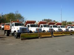 DC Snow Plow Truck Lineup | Flickr - Photo Sharing!